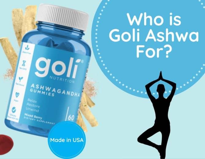 take goli's ashwa to reduce stress