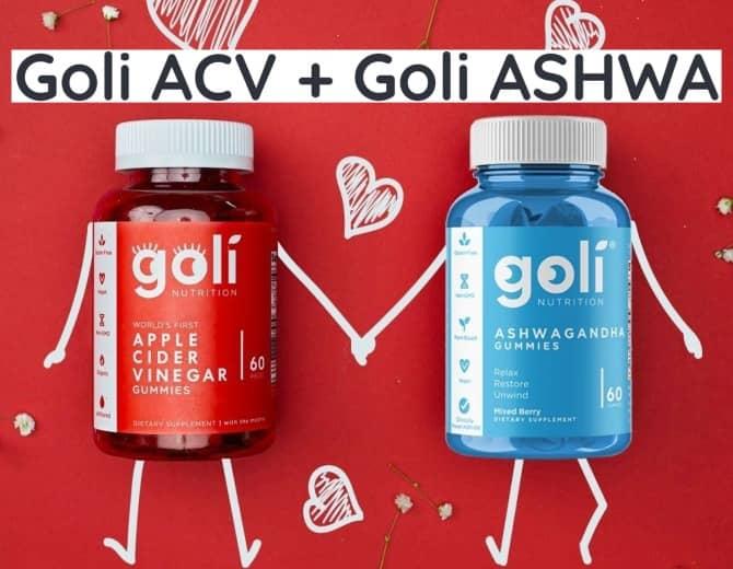 taking goli ACV + ashwa together