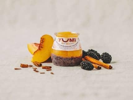 100% organic ingredients by YUMI