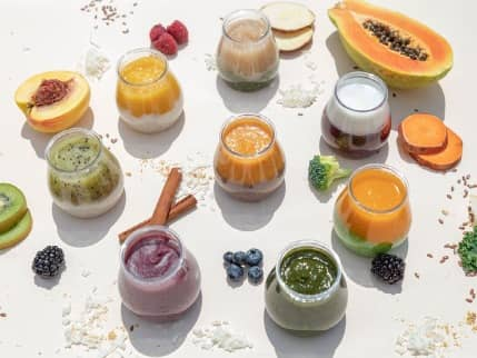 baby food texture transition